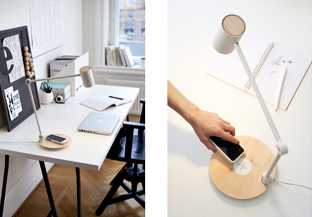 New Ikea Lamps With Wireless Charging Let You Charge Your