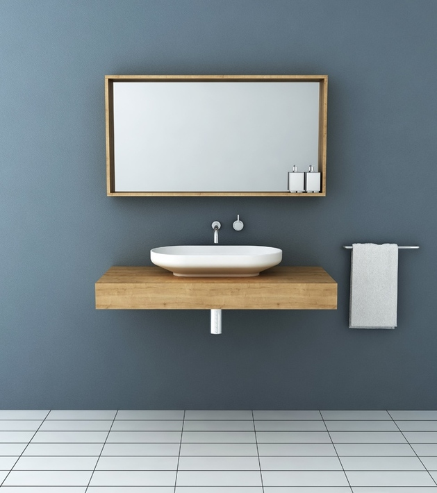 timber vanities with basins by omvivo 1 thumb autox710 54432 Timber Vanities with Basins by Omvivo: a Perfect Fit for Minimalist Contemporary Bathrooms