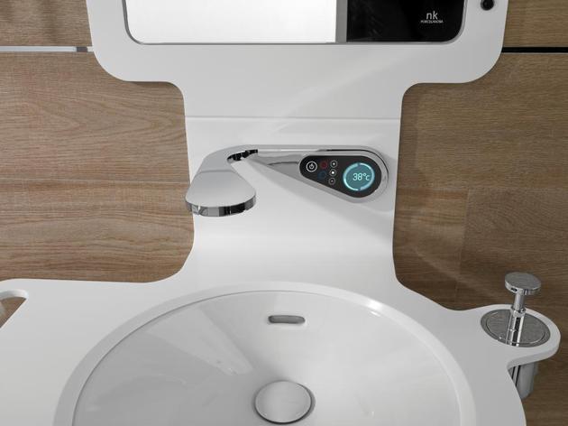 noken mood bathroom collection thumb 630xauto 56034 High Tech Bathroom Faucets for Digital and Electronic Upgrades