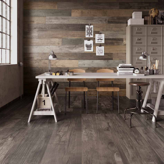 Weathered Wood Look Porcelain Tiles Office Abk Jpg