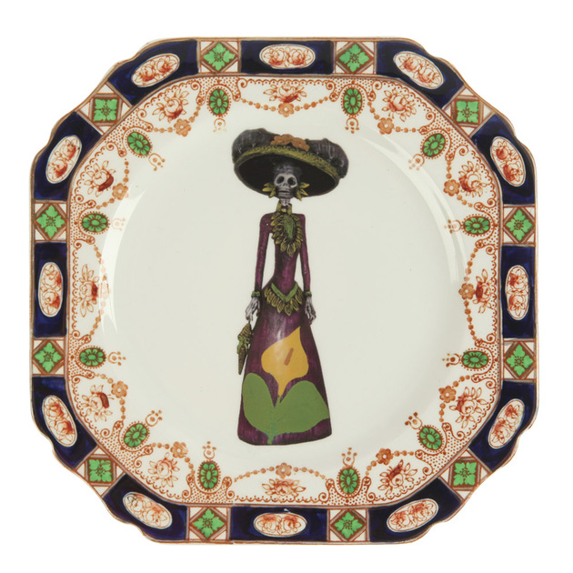 day-of-the-dead-decor-dinner-plate-upcycled.jpg
