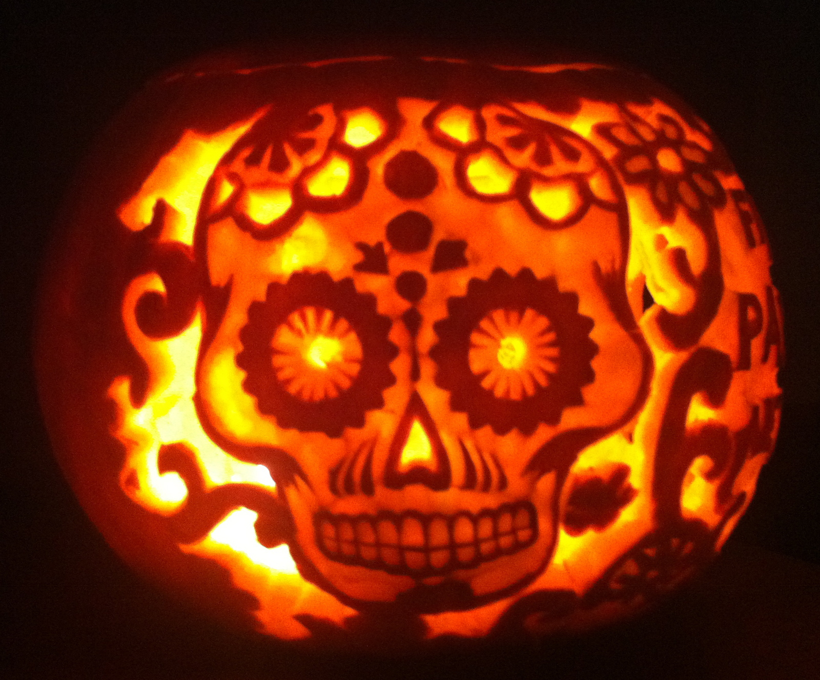 view in gallery day of the dead decor pumpkinjpg - Halloween Which Day
