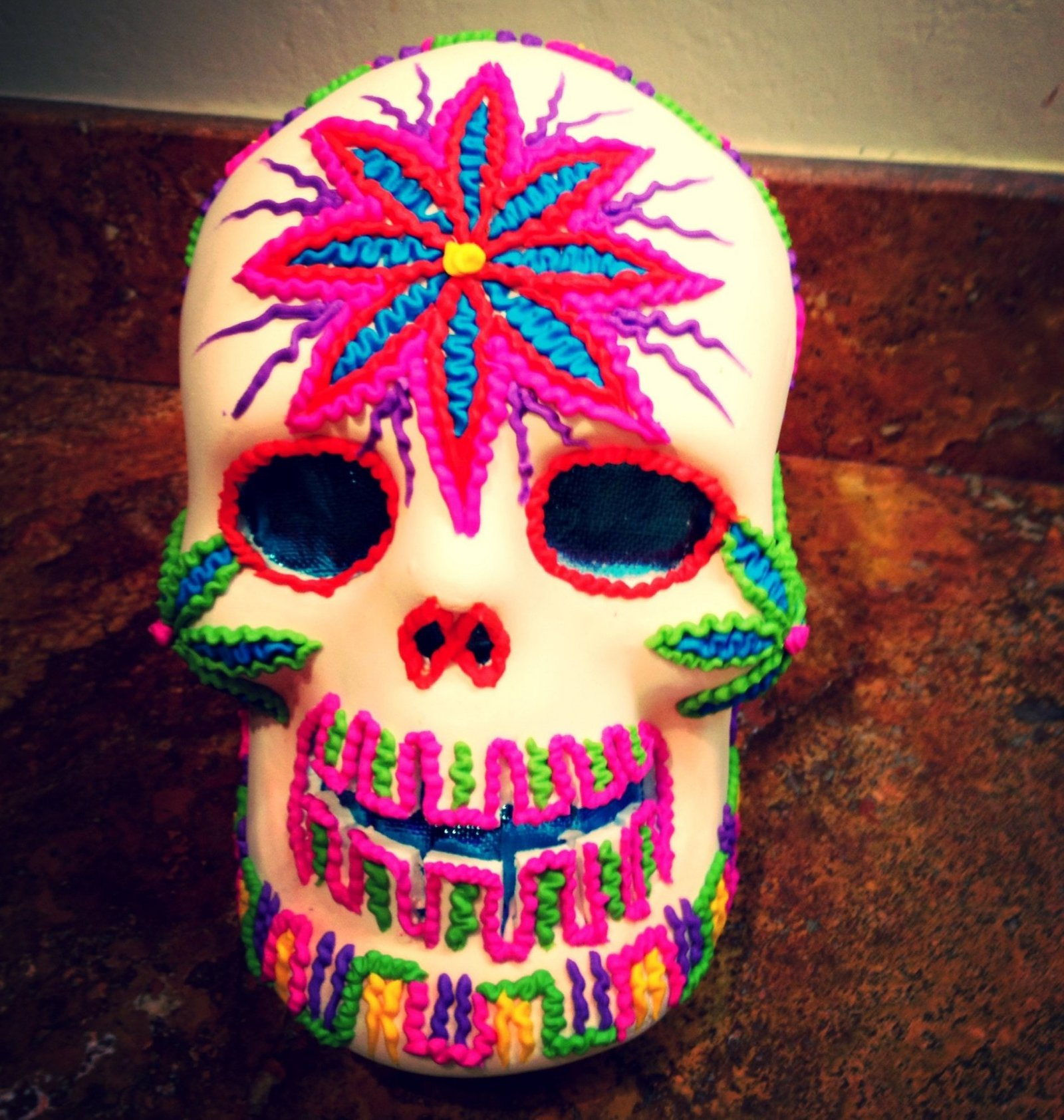 Day of the dead decor its the new halloween view in gallery day of the dead decor sugar skull huge dailygadgetfo Choice Image