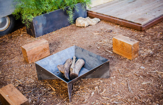 Hot Rolled Steel Square Fire Pit Etsy Jpg