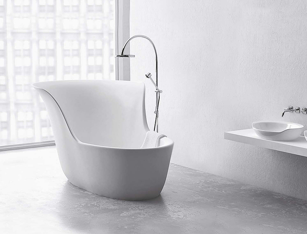 mini bathtubs shower marmorin jena 2 thumb 630xauto 57474 Mini Bathtub and Shower Combos for Small Bathrooms