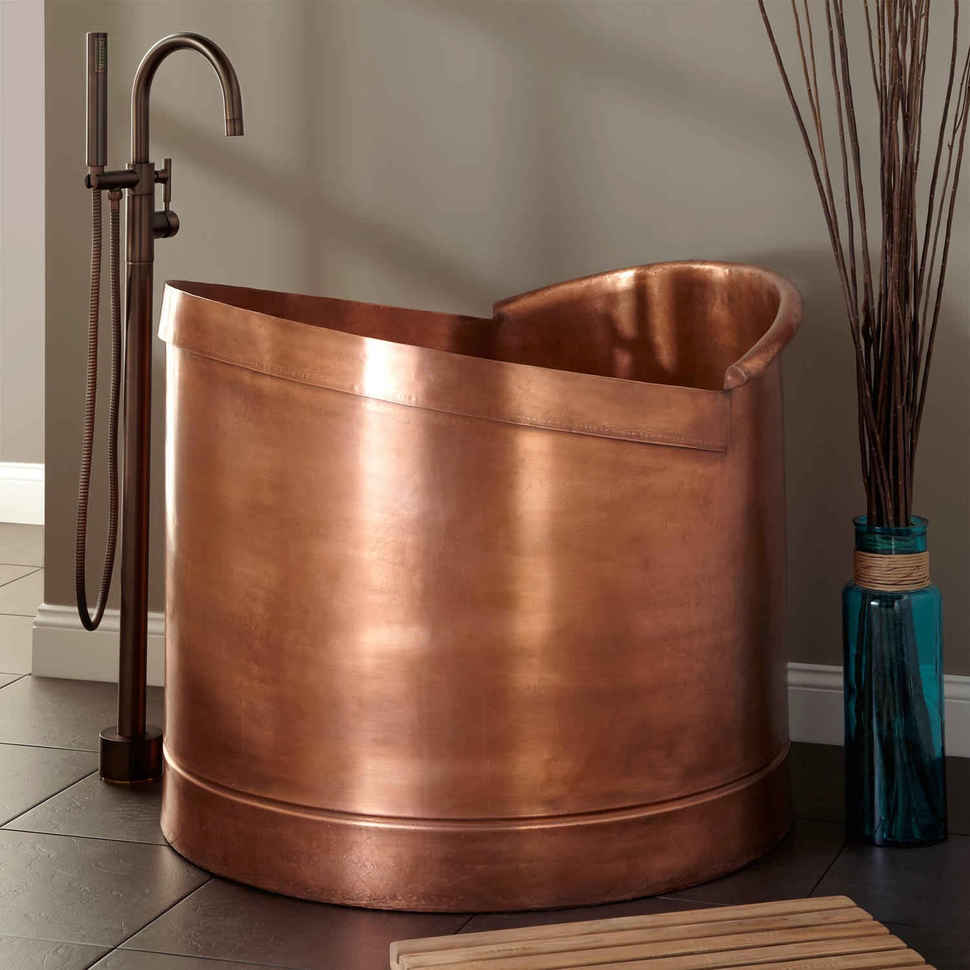 View In Gallery Mini Bathtubs Signature Freestanding Copper
