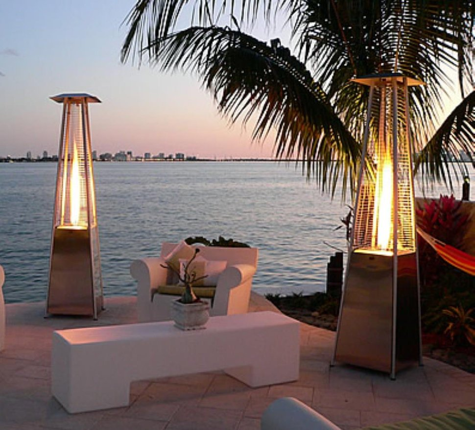 View In Gallery Outdoor Gas Heaters Heat Up Your Patio Appeal