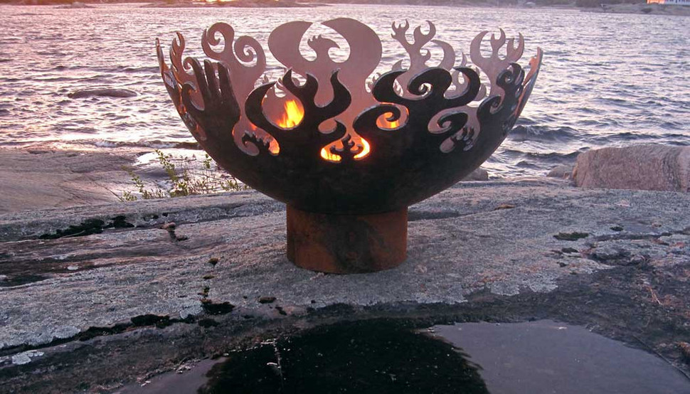Charming Art Fire Pit Ideas Nice Look