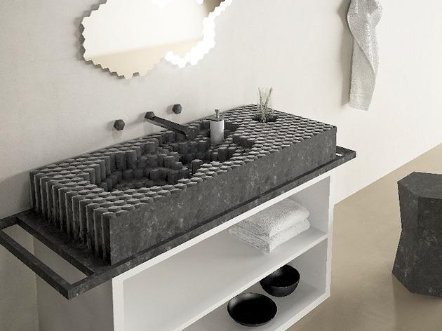 unusual creative bathroom sinks 2 thumb 630xauto 57624 Unusual and Creative Bathroom Sinks