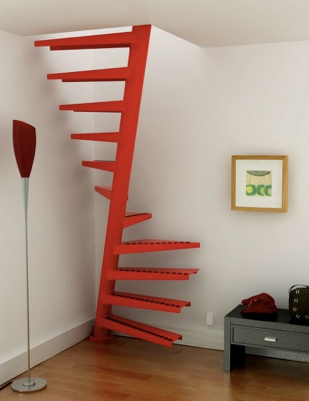 unusual-unique-staircase-modern-home-skinny-red.jpg