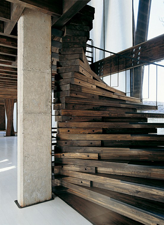 unusual-unique-staircase-modern-home-wood-reclaimed.jpg