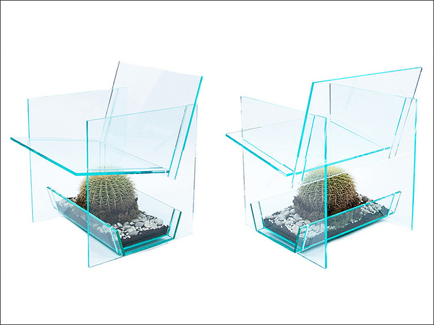 cactus chair by vedat ulgen 1 thumb 630xauto 58439 Cactus Chair by Vedat Ulgen redefines the art of Pointillism