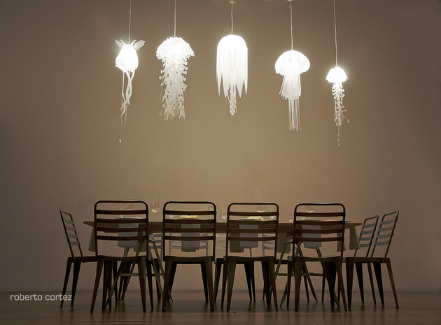 coolest hanging and pendant lighting jellyfish 1 thumb 630xauto 58183 25 Coolest Hanging Lights for Modern Rooms