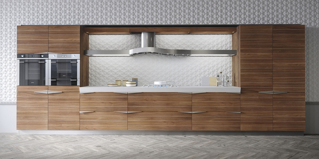 1 time kitchen snaidero timeless teak thumb 630xauto 60538 Time Kitchen by Snaidero in Timeless Teak