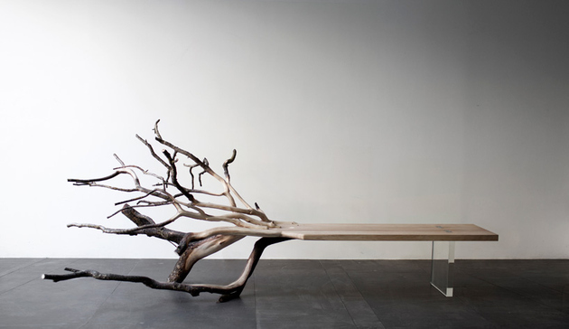fallen tree bench benjamin graindorge 1 thumb 630xauto 60454 Tree Inspired Furniture: 20 Stunning Designs