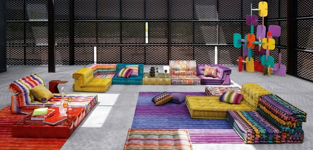 new mah jong sofa missoni home roche bobois 1 thumb 630xauto 60973 Popular Mah Jong Sofa Series Gets Beautiful Addition