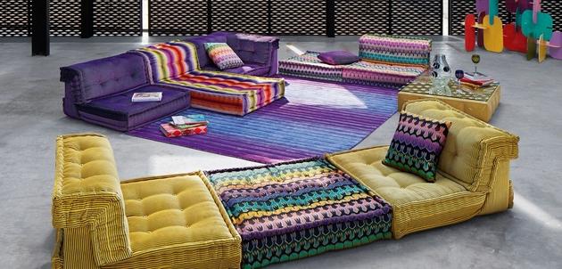 new mah jong sofa missoni home roche bobois 2 thumb 630xauto 60975 Popular Mah Jong Sofa Series Gets Beautiful Addition