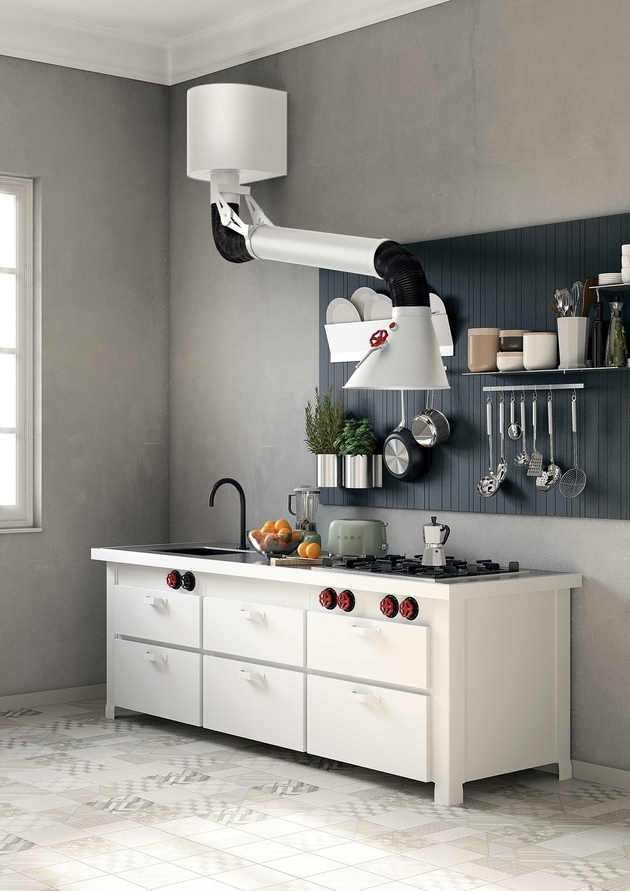 unusual stove hood mammut minacciolo thumb autox891 60329 2 Kitchens with Unusual Stove Hoods