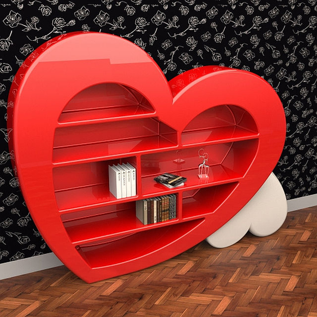 1 home is where theheart is thumb 630xauto 62623 15 Heart Shaped Furniture and Decor Ideas