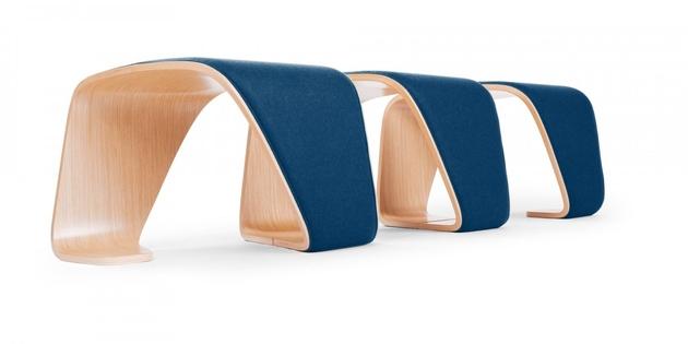 1b indoor benches %2025 wood designs thumb 630xauto 61715 Unusual Indoor Benches: 25 Unique Wooden Designs