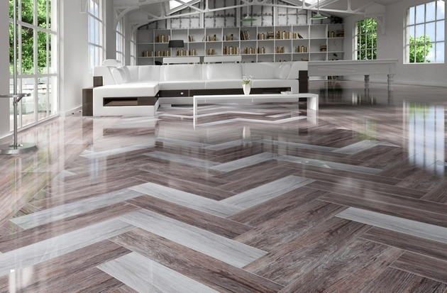 rectified wood effect tile floor ng kutahya 2 thumb 630xauto 61668 Wood Effect Tiles for Floors and Walls: 30 Nicest Porcelain and Ceramic Designs