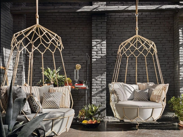garden hanging chair gravity roberti rattan thumb 630xauto 64208 Garden Furniture from Roberti Rattan