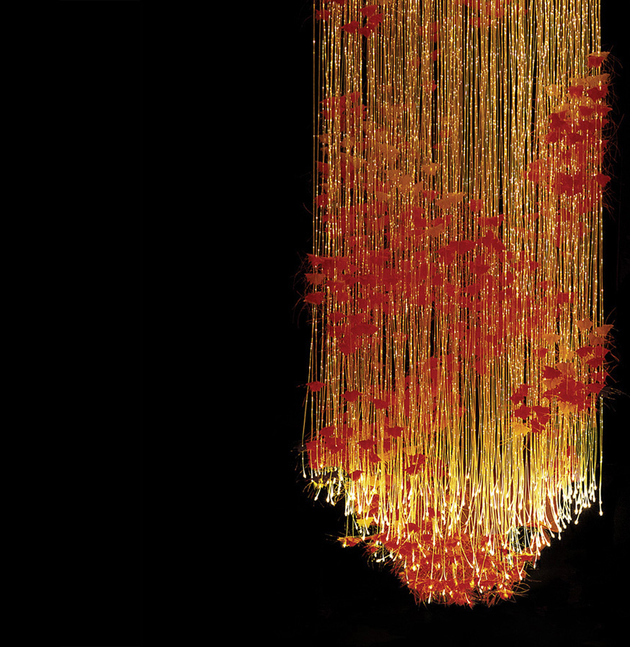 sharon marsten designer lighting wow autumn thumb autox647 63044 Designer Fiber Optic Lighting by Sharon Marsten is Beyond Stunning