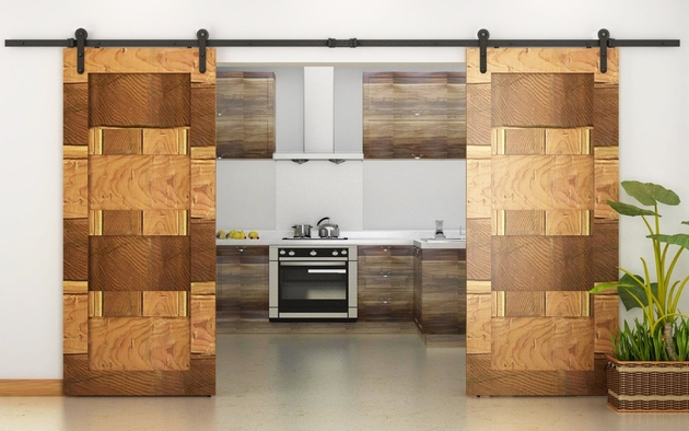 sliding barn doors for the home 11 thumb 630xauto 64478 Architectural Accents: Sliding Barn Doors for the Home