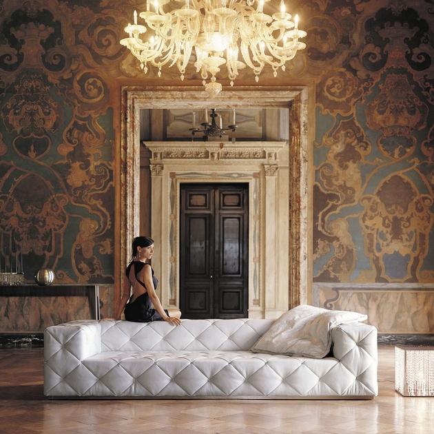 elegant modern style sofas image white living room black sofa | 40 Elegant Modern Sofas for Cool Living Rooms