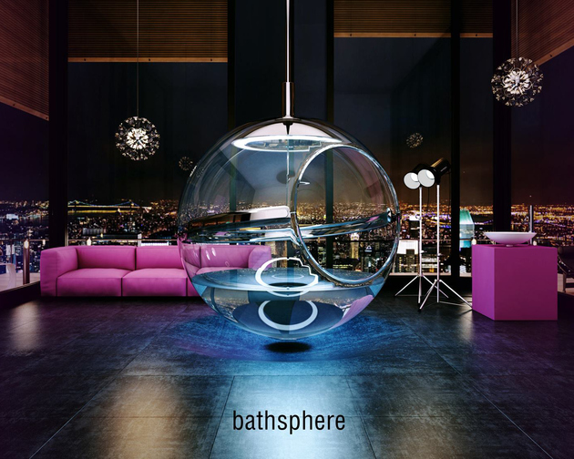 Bathsphere by Alexander Zhukovsky 1 thumb 630xauto 66810 Have You Ever Had a Bath in a Glass Bubble? Meet Bathsphere