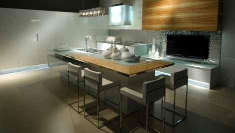 Contemporary Kitchen by Aster Cucine – new Ulivo