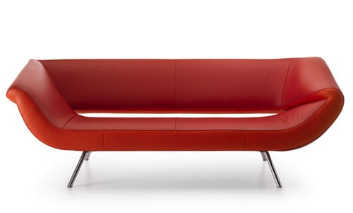 asymmetrical sofa leolux arabella 1 Asymmetrical Sofa by Leolux – Arabella