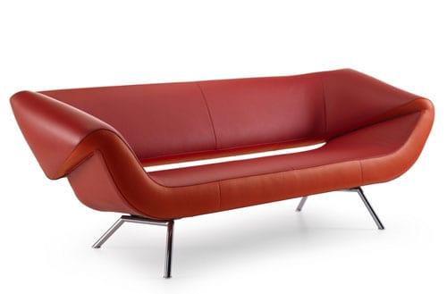 asymmetrical sofa by leolux arabella. Black Bedroom Furniture Sets. Home Design Ideas