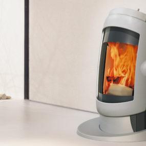 Futuristic Stove design from Austroflam – Vogue wood stove