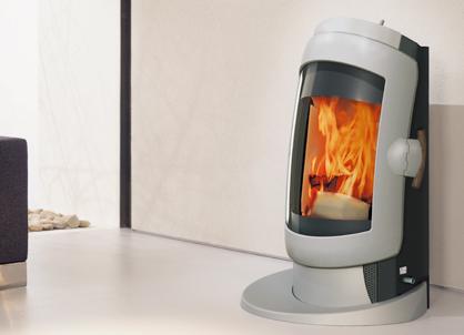 ausvog281 Futuristic Stove design from Austroflam   Vogue wood stove