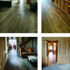 Antique Wood Flooring from Authentic Provence – Old World charm for your Home