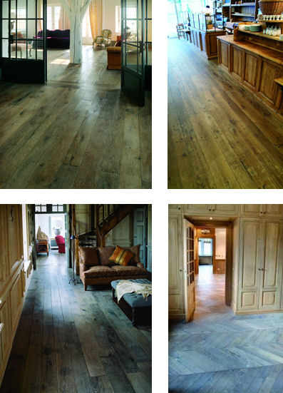 authentic provence reclaimed wood flooring