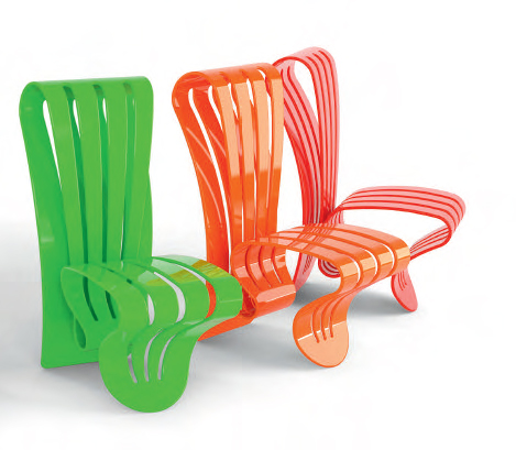 avanzini group leaf collection chairs Elegant Creative Outdoor Furniture by Avanzini   Organic Leaf Collection
