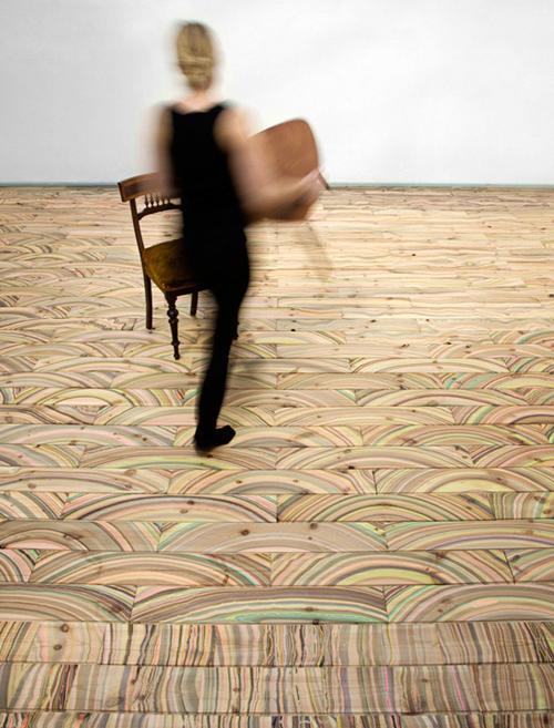 awesome wood floors marbelous snedker studio 1 Awesome Wood Floors   Marbelous by Snedker Studio