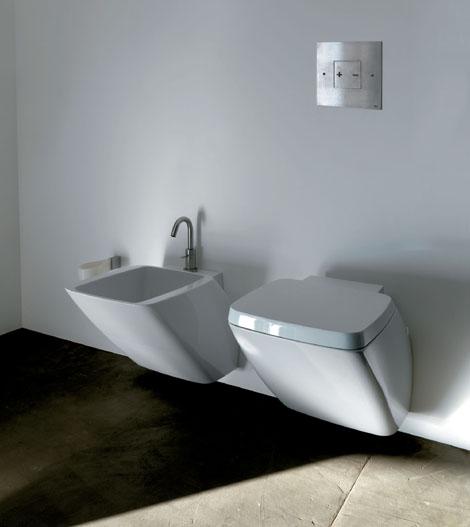 axa white ceramic bathroom set atmosfera 1 White Ceramic Bathroom Set by Axa   new Atmosfera