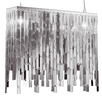 axolight lamp glitter 1 Modern Chandelier from Axolight   Glitter Chandelier glamour