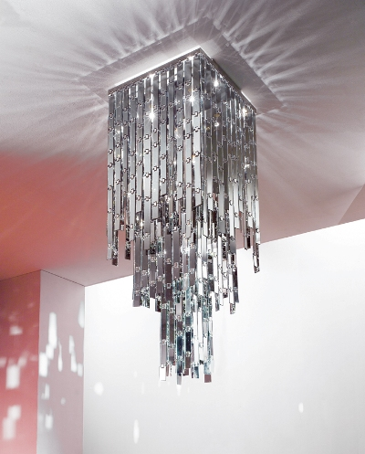 axolight lamp glitter 2 Modern Chandelier from Axolight   Glitter Chandelier glamour