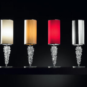 Designer Table Lamp from Axolight – Subzero lamp by designer Manual Vivian, with Bohemia crystal