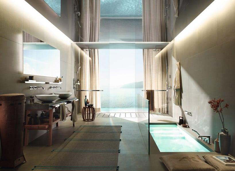 AXOR Citterio E Bathroom Fixtures Wow with New Slender Figure