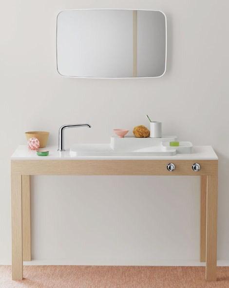 axor hansgrohe bathroom bouroullec 2 Customizable Bathroom by Axor Hansgrohe   new Bouroullec collection
