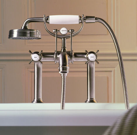 Axor Montreux Bath Filler Period Style Bathroom Faucet Collection From Hansgrohe The Belle Epoque