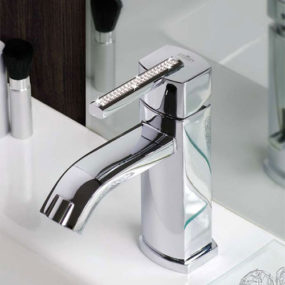 Crystal Bathroom Faucets – Swarovski Azeta by Webert