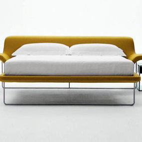 Designer bed from B&B Italia – the new Metropolitan bed