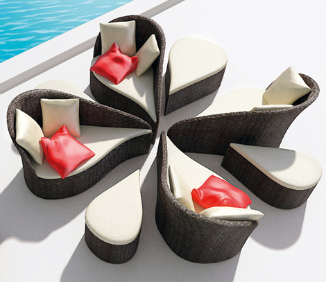 b alance outdoor furniture fiore 1