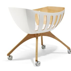 Baby Bassinet and Cradle with Windows by Gloria Lavi